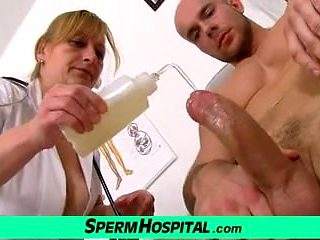 CFNM medical porn with Czech lady Gabina
