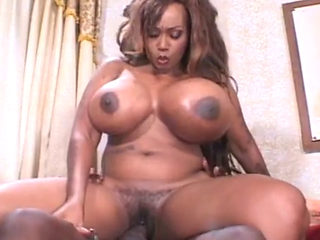 Sexy Ebony Cop Gets Fucked Hard