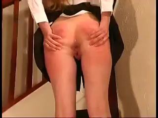 Punishing her private parts-daddi