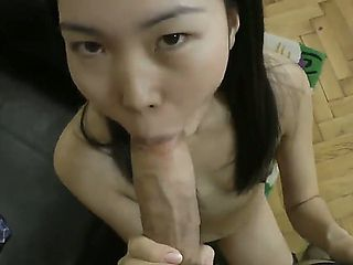 Nicoline is a cute Asian slut and likes to swallow big peckers and get creampies