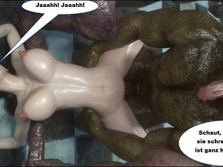 Monster Gangbang mit Jochen