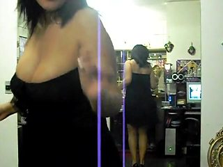 Crazy Chineese girl dancing