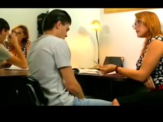 Busty beauty emy teach her student a lesson