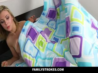 FamilyStrokes - Daddy fucks step daughter every time ...