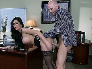 Emily B is the sort of boss most any man would wish for. When it comes to inner office relations,...