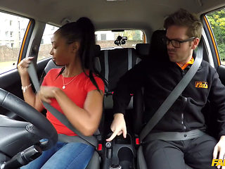 Fake Driving School Fuck For Lola Marie