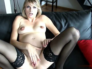 Russian pregnant sex and cumshot