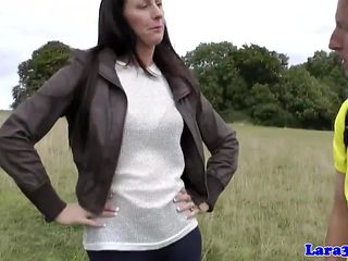 British mother i'd like to fuck facialized after bawdy cleft eaten out