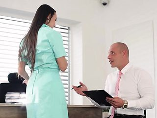 Babes - Office Obsession - Naughty Nurse star