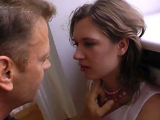 Young Lucie met this mature man about a week ago. This babe thought that he is real gentleman, bu...