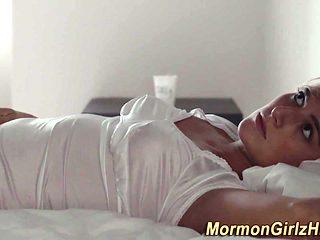 Real mormon giving head