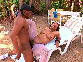 Fabulous pornstar Anjel Devine in hottest outdoor, creampie sex clip