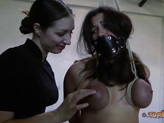 Busty Dana Vixen gets pelasured by her horny dominatrix