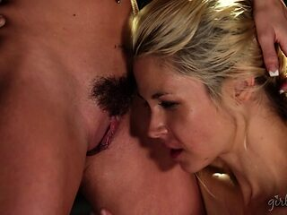 Big booty lesbian having her pussy fingered superbly