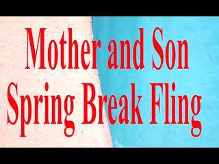 Mother and Son Spring Break Sex  POV