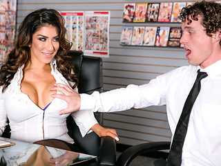 Raven Hart & Robby Echo in Big Tit Office Chicks #02 - DevilsFilm