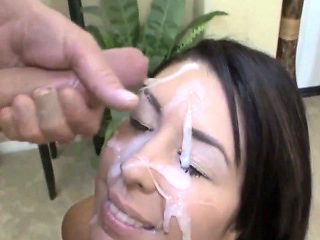 sperm in face amateurs compilation            by   oopscams
