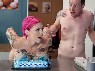 Anna Bell Peaks & Jessy Jones in Lets Bake A Titty Cake - Brazzers
