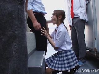 prettiest girl in the class fucked by her colleagues