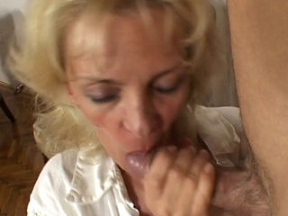 Slim Mature Pays The Dealer In Pussy