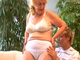 German Granny Fucked And Facialized