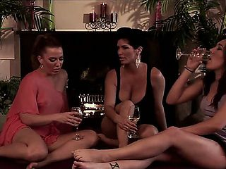 Inari Vachs, Shay Fox and Sinn Sage are three old good friends. Heres the video of girls getting ...