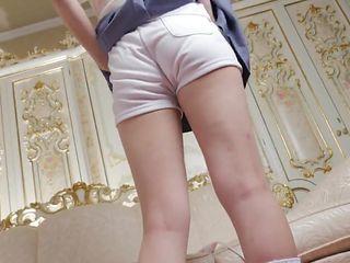 Little white panties