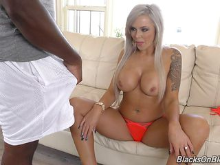 Nina's African friend Mandingo gives her the sausage of her dreams