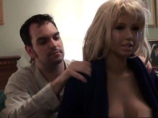 Amazing pornstars Marie Madison and Jenny Densuke in incredible fetish, blonde xxx scene