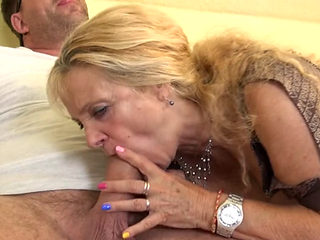 Mature Housewife Beate A. Doing Her Toyboy