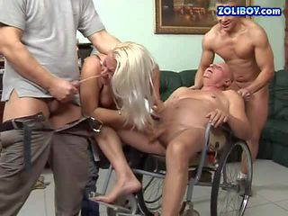 Dirty and busty mature blonde honey