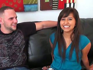 What a gorgeous Latina beauty Jade Kennedy is! Now this perverted fellow Jmac tries to seduce her...