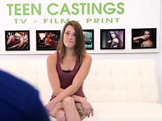 FetishNetwork Kirsten Lee brutal casting