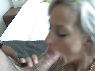 Blonde Girl Punished with a Brutal Hard fucking