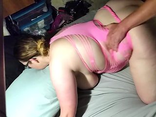 Bbw wife fuck from behind angle 3