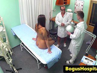 Euro patient banged until cumsprayed