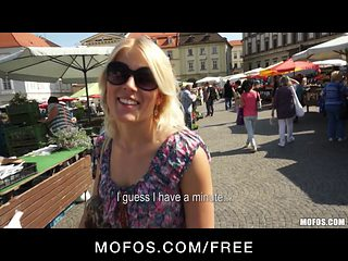 Public Pickups - Czech babe bounces her ass on big-dick
