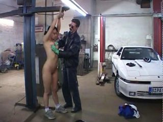 Female Mechanic Gets a Special Treatment