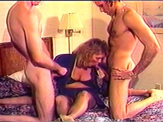 Mature Blonde Woman Suck And Fuck Duo