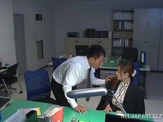 teacher gets bent over the desk