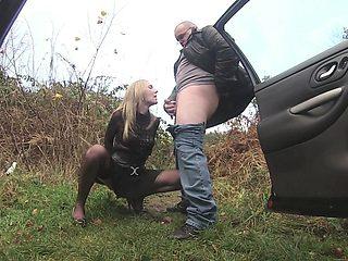 Lisa stunning amateur blonde teen public flashing
