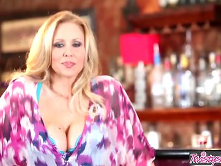 Twistys - Julia Ann starring at The Perfect Bar Maid
