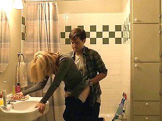 Softcore Fuck In The Bathroom