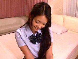 Gorgeous Kana Tsuruta pretty young Asian babe