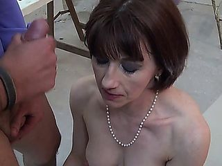 French Mature Sophie Pasteur - Anal - Photograph