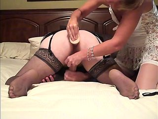 Sexy Wife Uses Her Toy on Me