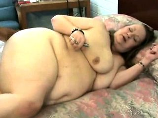 Big ass grandma try anal