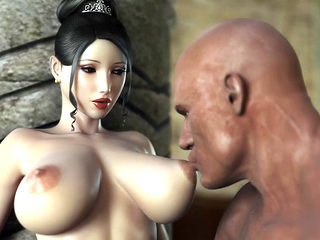 3d Beauty Getting Fucked Very Hard