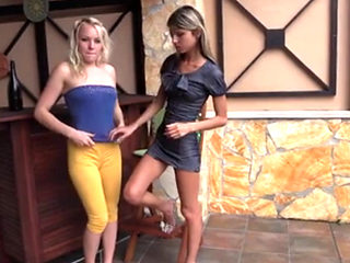 Photo Shoot With Hot Teen Lesbians