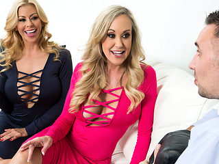 Alexis Fawx & Brandi Love & Keiran Lee in Internet Outage Poundage - Brazzers